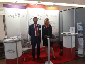 Amomed booth at DGIIN ÖGIAIN