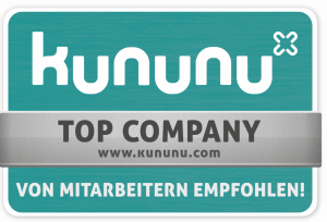 Kununu Top Company badge