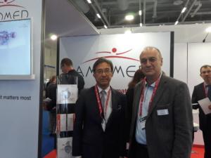 Prof. Kinugawa und O. Bouvet