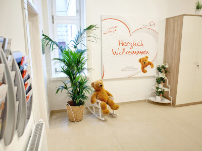 AMOMED Gives, Teddy Haus Wien
