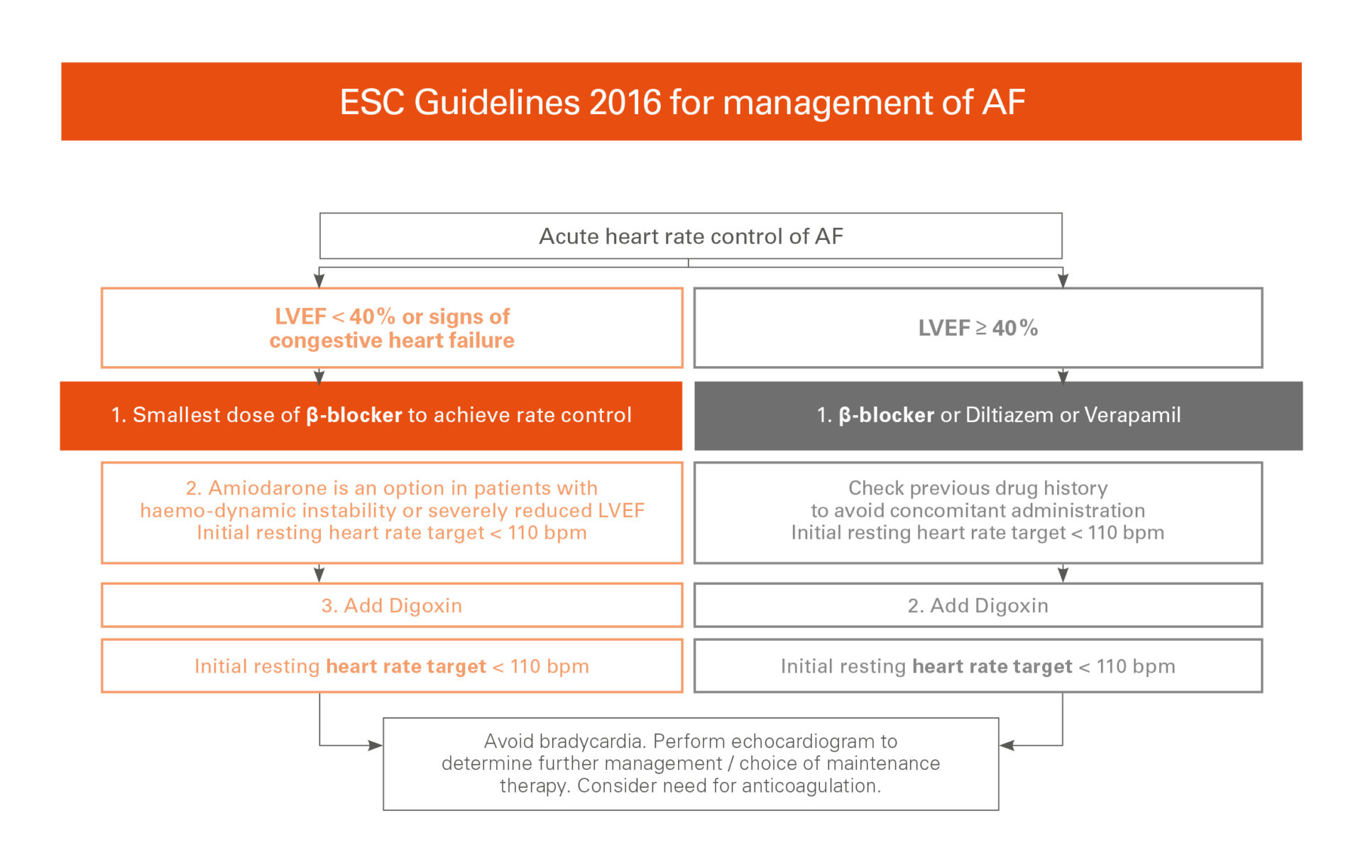 ESC Guidelines 2016 for management of AF